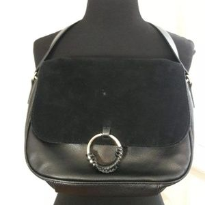 H&M Black Crossbody Shoulder Bag Adjustable Strap